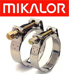 104-112 MM Mikalor T-Bolt Clamp W2 SUPRA