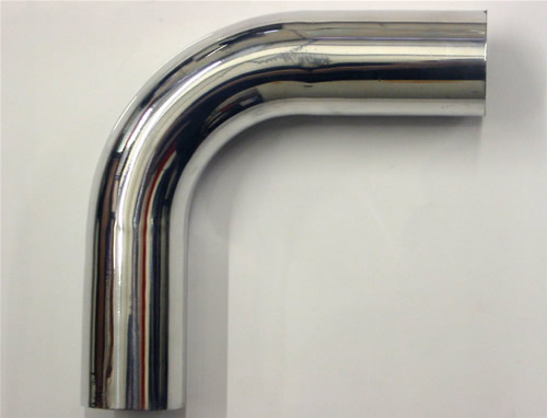 80mm Aluminium Pipe Joiner 90 Degree Unbeaded