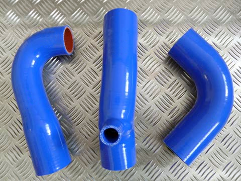 Sierra Cosworth 2WD Boost Silicone Hoses Kit with Dump Valve Take Off
